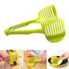 Image of Kitchen Cooking Tool Fruits And Vegetables Slice Assistant Tomato Slice Perfect Slicer Cutter Holder | Edlpe