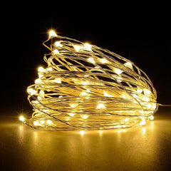 8 Functions Waterproof Lighting Holiday Wedding Party Decor LED String Light