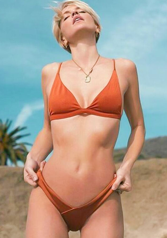 Fashion Womens Sexy Plain Color Bikini Top | Edlpe