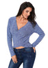 Image of Women Deep V Neck Long Sleeves Sweater | Edlpe