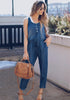 Image of Fashion Women Sleeveless Casual Jumpsuits | Edlpe