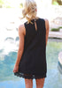 Image of Women Fashion Lace Sleeveless Holiday Dress | Edlpe