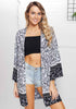 Image of National Style Floral Printed Kimono Sunscreen Summer Cardigan | Edlpe