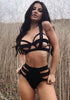 Image of Sexy Hollow Out Lace Up Lingerie Set | Edlpe