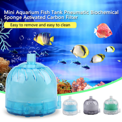 Mini Aquarium Fish Tank Filtering System Air Pump Diffuser Bio-System Bio-Sponge Filter Media | Edlpe