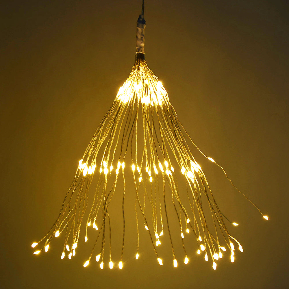 100Leds 150Leds Waterproof 8 Functions Led Firework Light Copper Wire Led Fairy String Light | Edlpe