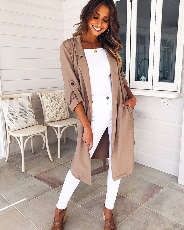 Womens Long Sleeve Loose Cardigan Casual Long Sleeve Midi Open Sweater Tops Size | Edlpe
