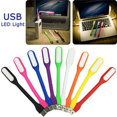Mini LED USB Read Light Computer Lamp Flexible Ultra Bright for Notebook PC Power Tablet Laptop