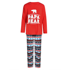 Family Matching Kids Mom Dad Christmas Pajamas PJs Sets Xmas Sleepwear Nightwear