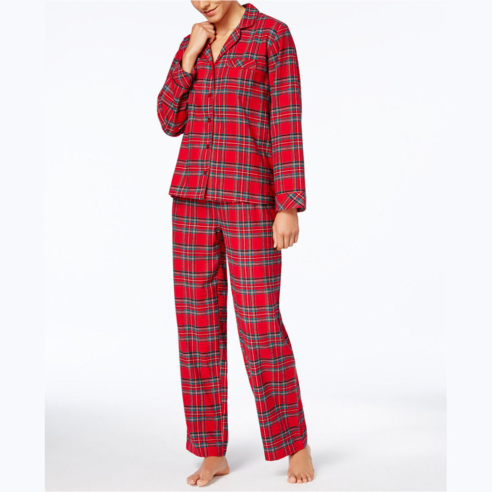 Adult Kids Family Matching Christmas Nightwear Sleepwear Xmas Pajamas Outfits | Edlpe