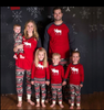 Image of Xmas Pjs Family Matching Adult Women Kids Christmas Nightwear Pyjamas Pajamas | Edlpe