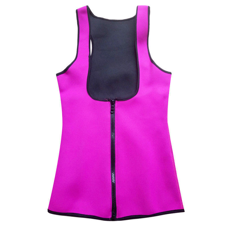 Womens Fashion Zip Push Up Vest Shapewear Girdle Body Shaper Corset Cincher | Edlpe