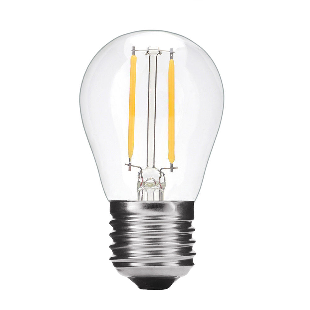 Edison Led Bulb 2W/4W/6W/8W Vintage Filament Light Bulb Warm Base Lamp Candle Lights | Edlpe