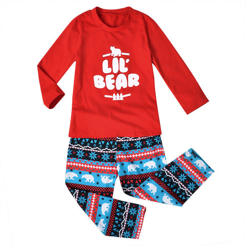 Family Matching Kids Mom Dad Christmas Pajamas Pjs Sets Xmas Sleepwear Nightwear | Edlpe