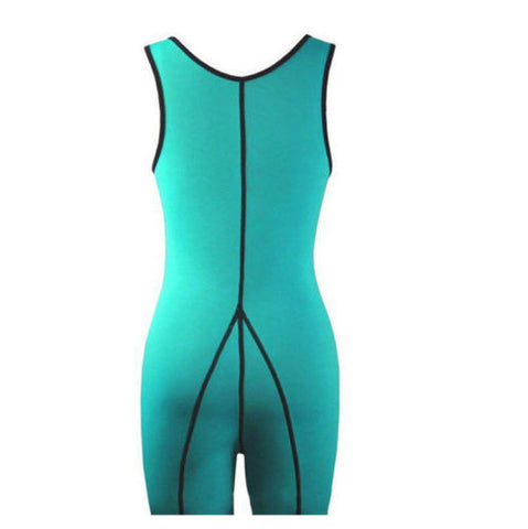 Women Neoprene Sauna Suit Full Body Shaper Ultra Sweat Weight Loss Yoga Bodysuit | Edlpe