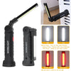 Image of 5 Modes Led Cob Work Light Magnet Usb Flashlight With Hook Folding Torch Led Flashlight | Edlpe