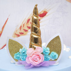 3D Unicorn Horn Shape Silicone Mold Soap Fondant Candy Cake Baking Molds DIY Wedding Decor Tools