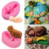 Image of Silicone 3D Sleeping Baby Mold Cookware Dining Bar Non-Stick Cake Decorating Fondant Mould | Edlpe