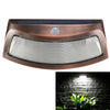 Image of Solar Power Pir Motion Detection Waterproof Outdoor Led Wall Light Wireless Security Step Night Lamp | Edlpe