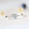Image of Women Ladies Sea Blue Jewelry Gem Rings Wedding Fashion Anniversary Gift | Edlpe