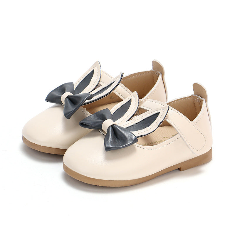 Summer Cute Baby Kids Girl Rabbit Ear Sandals Pu Leather Princess Flat Casual Party Shoes | Edlpe