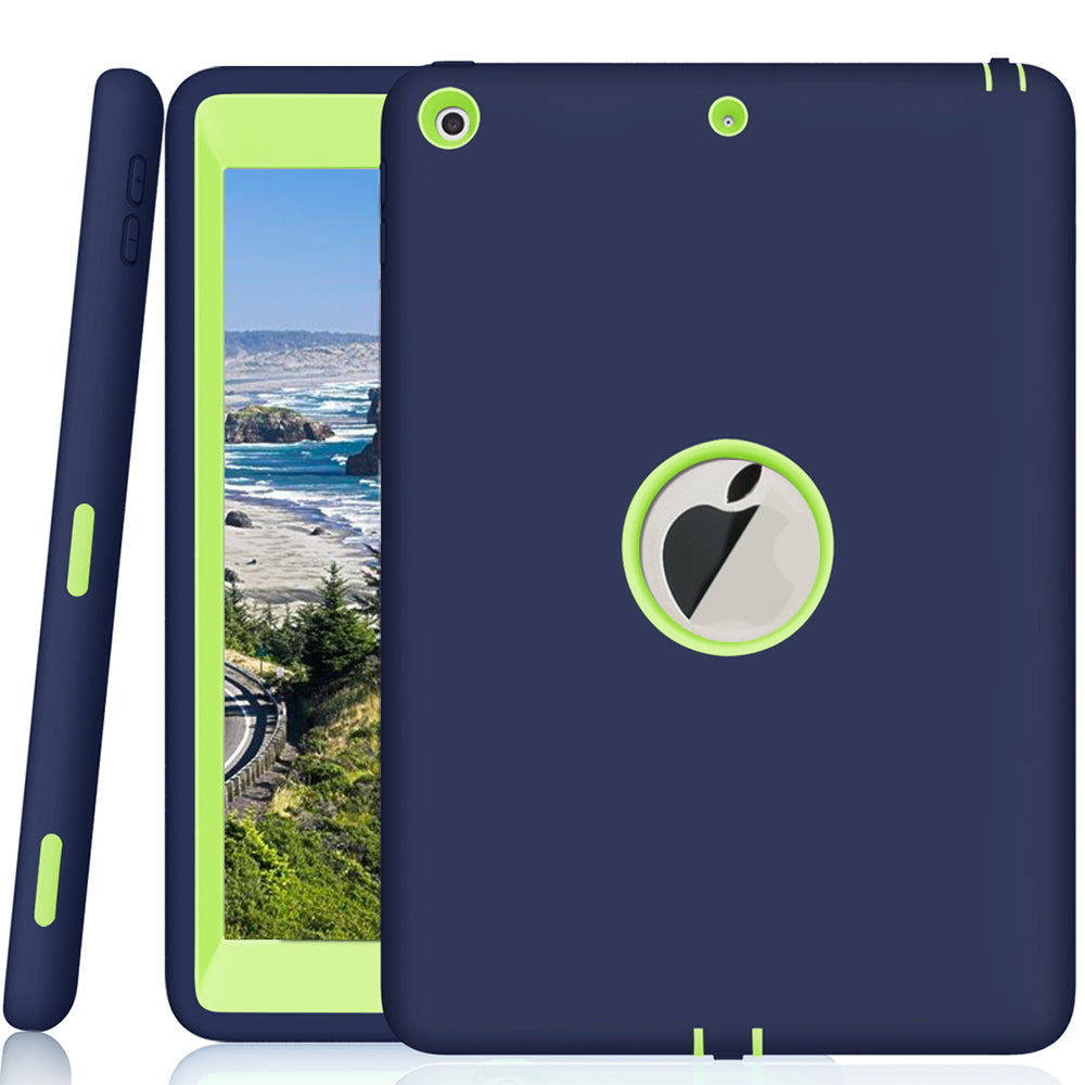 Case For Ipad For Apple New Ipad 9.7 2017 Heavy Duty Rugged Shockproof Protective Case Cover | Edlpe