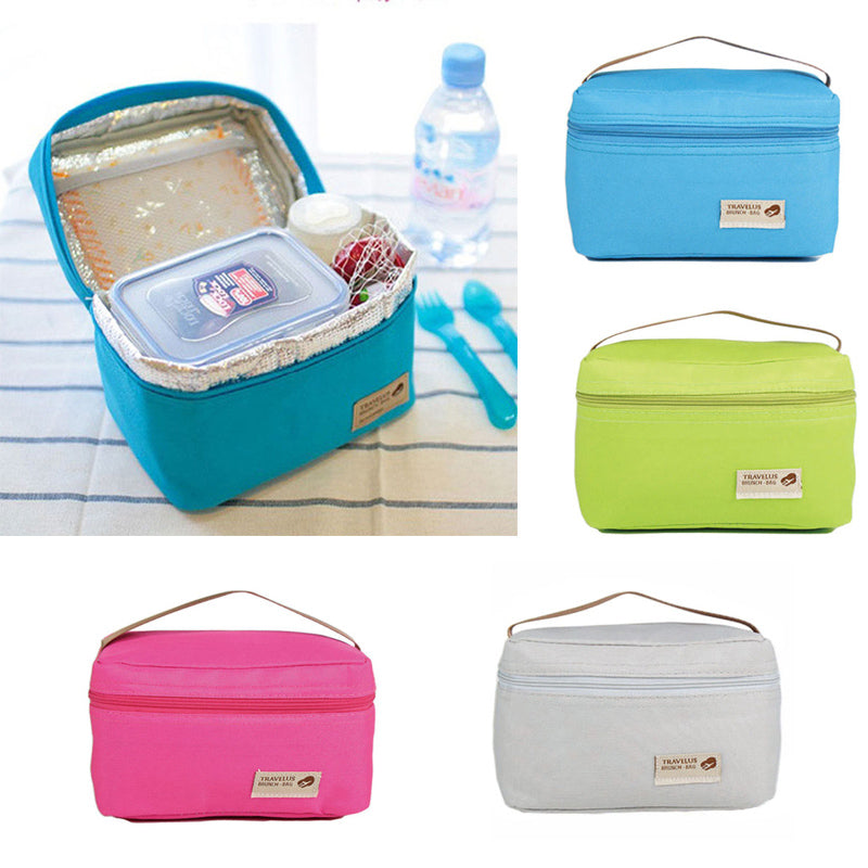 Waterproof Portable Picnic Insulated Food Storage Box Tote Lunch Bag Pretty Good | Edlpe
