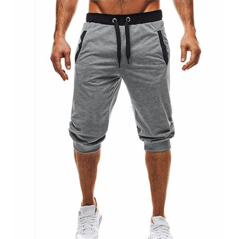 Mens Summer Casual Sport Pocket Trousers Running Gym Jogging Half Pants Shorts | Edlpe