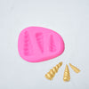 Image of 3D Unicorn Horn Silicone Fondant Mold Cake Chocolate Decorating Candy Cake Diy Baking Tools | Edlpe
