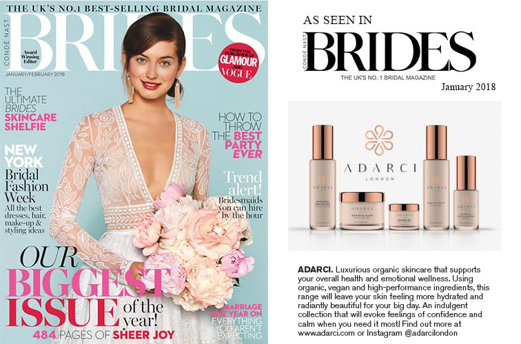 Adarci - as seen in Brides January 2018