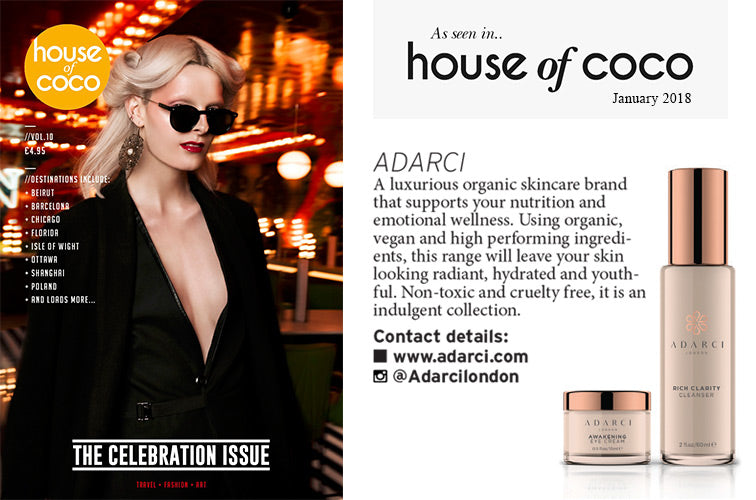 Adarci - As seen in House of Coco - January 2018