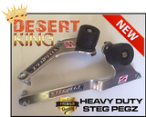 HEAVY DUTY DESERT KING STEG PEGZ