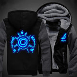 Luminous Hoodie Nine Tails Seal Graphic