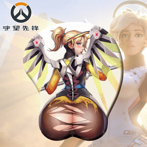 Mercy Booty Mouse Pad