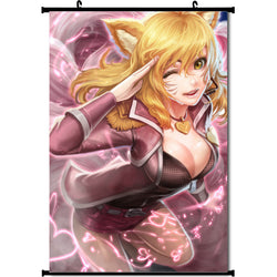 League of Legends Ahri Wall Scroll
