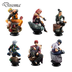 Six Piece Naruto Action Figure Set