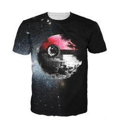 Pokeball Deathstar T-Shirt