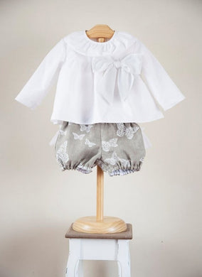 Lyna Shirt and Shorts Set