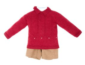 Carmen Taberner Red Jumper Boy