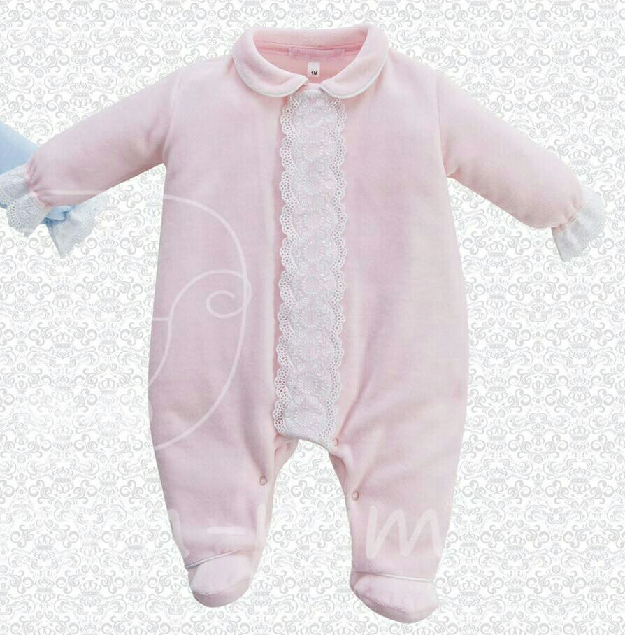Baby Velour Sublime Baby Pink