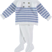 Sailor knitted baby 2pcs set