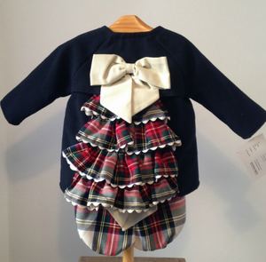 Vivienne Coat and Shorts Set Blue