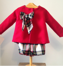 Vivienne Coat and Shorts Set Red