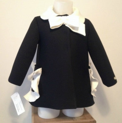 Coco Coat with Ruffles