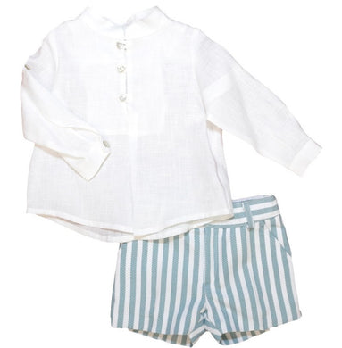 MARTIN ARANDA Boys Shirt and Shorts Set