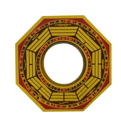 Divya Mantra Feng Shui Vastu Bagua Mirror Convex Wall Hanging For Positive Energy - Divya Mantra