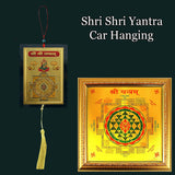 Divya Mantra Sri Hanuman Talisman Gift Pendant Amulet for Car Rear View Mirror Decor Ornament Accessories/Good Luck Charm Protection Interior Wall Hanging Showpiece