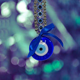 Divya Mantra Feng Shui Evil Eye Wall Hanging Ring for Protection - Divya Mantra
