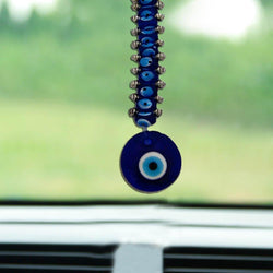 Divya Mantra Feng Shui Evil Eye with 10 Beads Hanging - Divya Mantra
