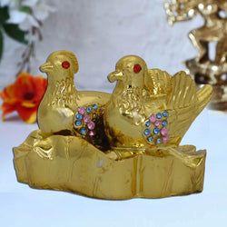 Divya Mantra Feng Shui Mandarin Ducks Colourful for relationship - Divya Mantra